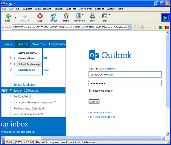 hotmail email template - related keywords suggestions for outlook email example